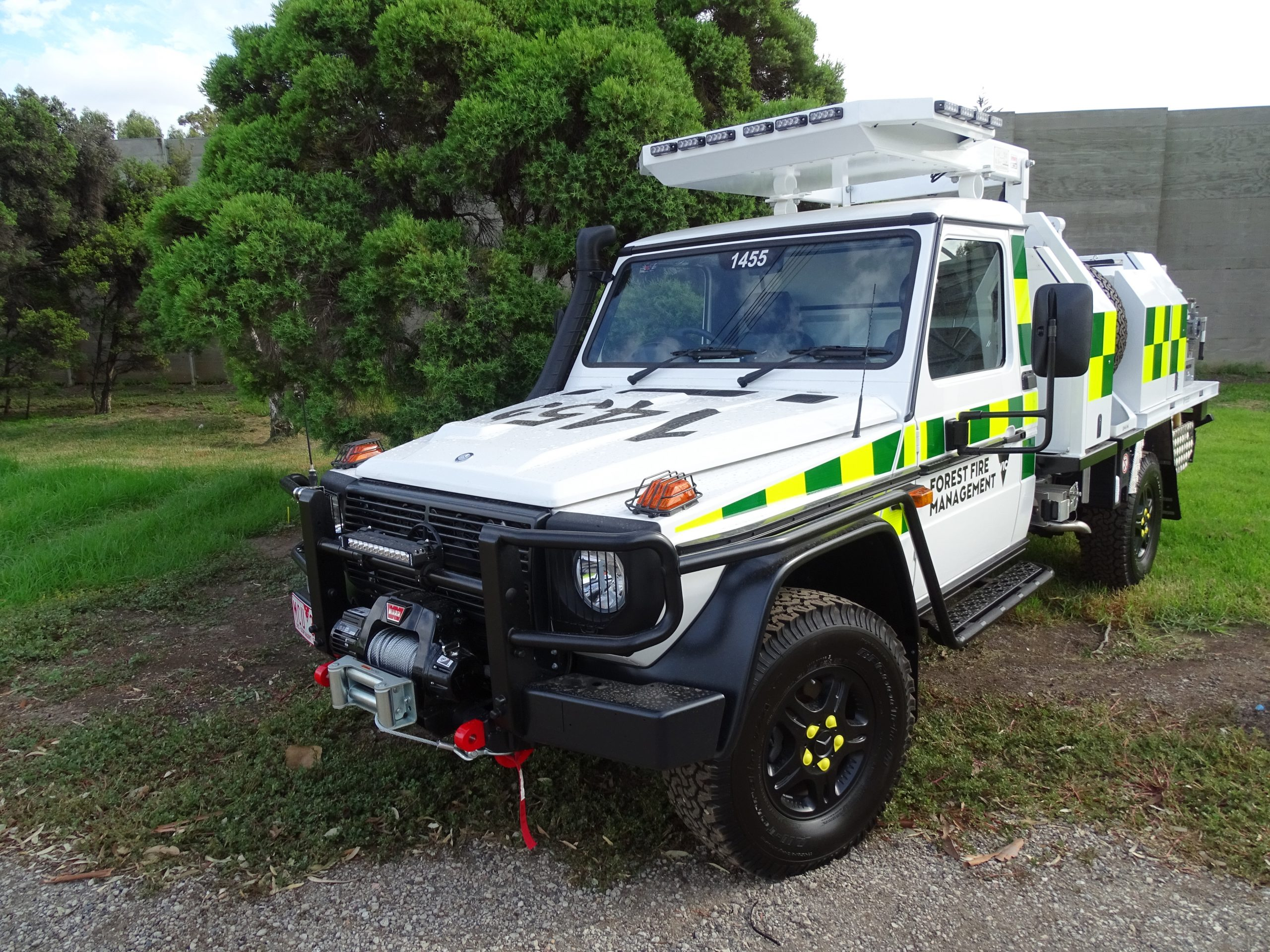 DELWP Forest Fire Management Vehicle